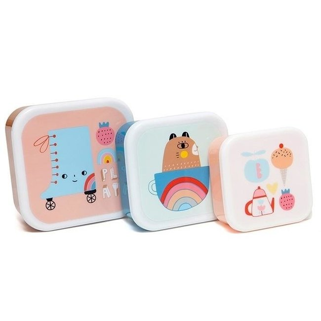 Lunchbox set skate boot    Petit Monkey