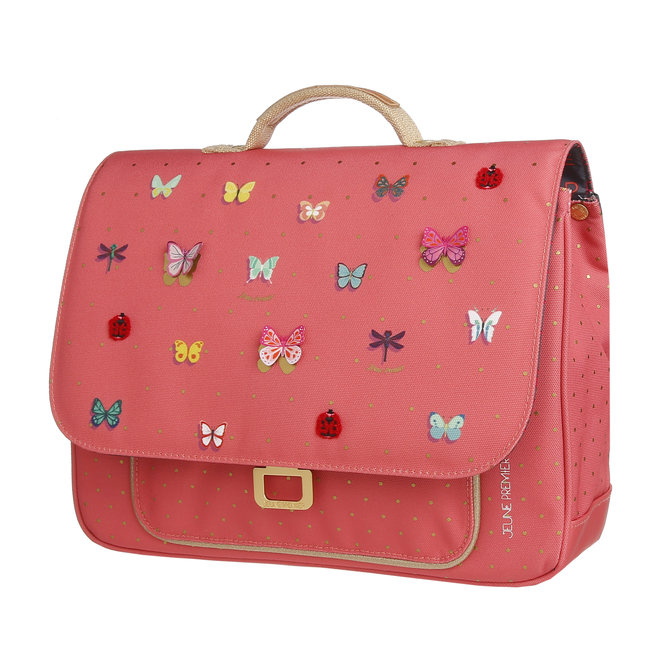 Boekentas It bag Mini Butterfly Pink – Jeune Premier