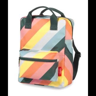 Engel. Rugzak Stripes Rainbow - Medium | Engel