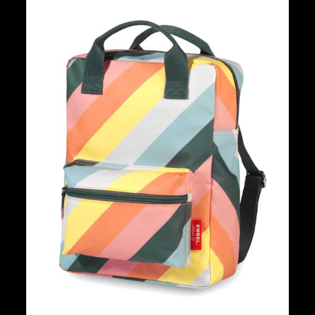 Rugzak Stripes Rainbow - Medium   Engel