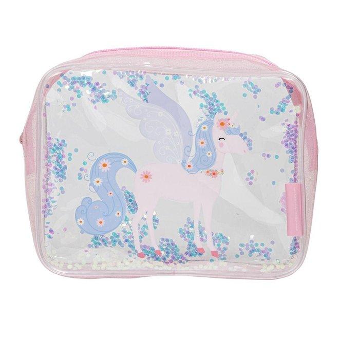 Toilettas: glitter-unicorn   A little lovely company