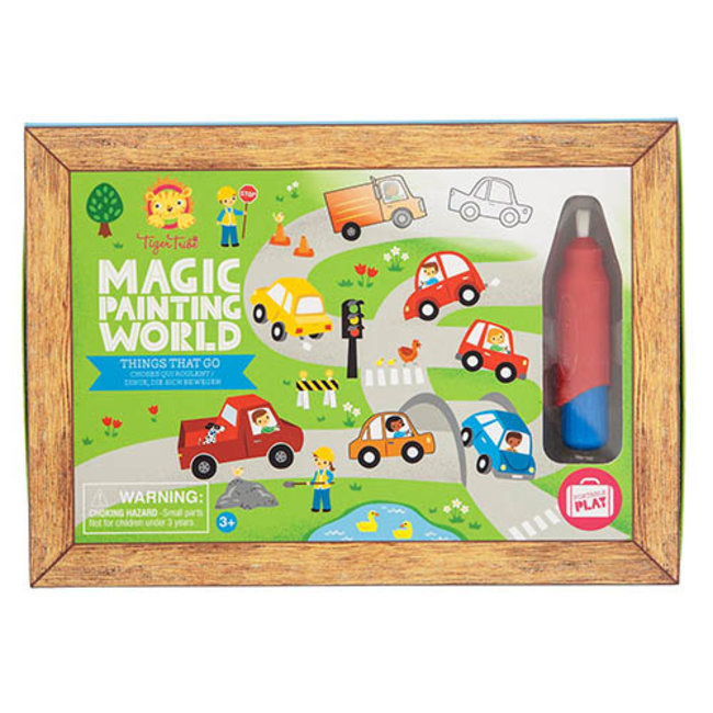 Magic Painting World - Things that go   Tiger Tribe