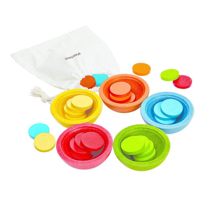 Houten kinderspel Sorteer & Tel   Plan Toys