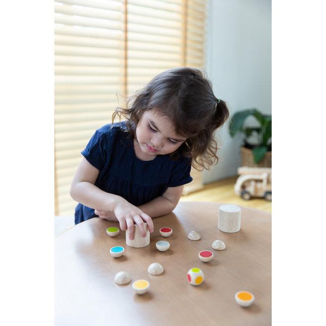 Houten kinderspel Shake N Flip | Plan Toys