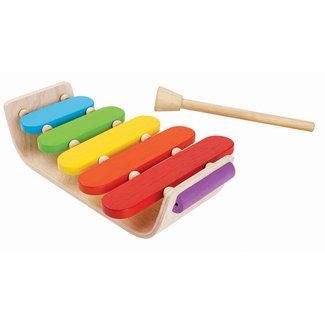 Plan Toys Houten Xylophone Oval | Plan Toys