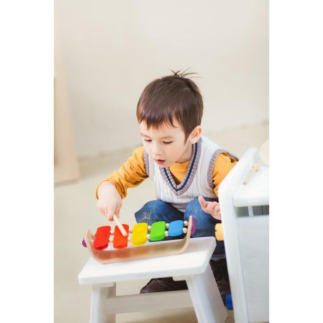 Houten Xylophone Oval | Plan Toys