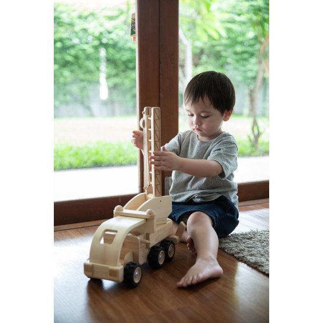 Houten Brandweerwagen | Plan Toys