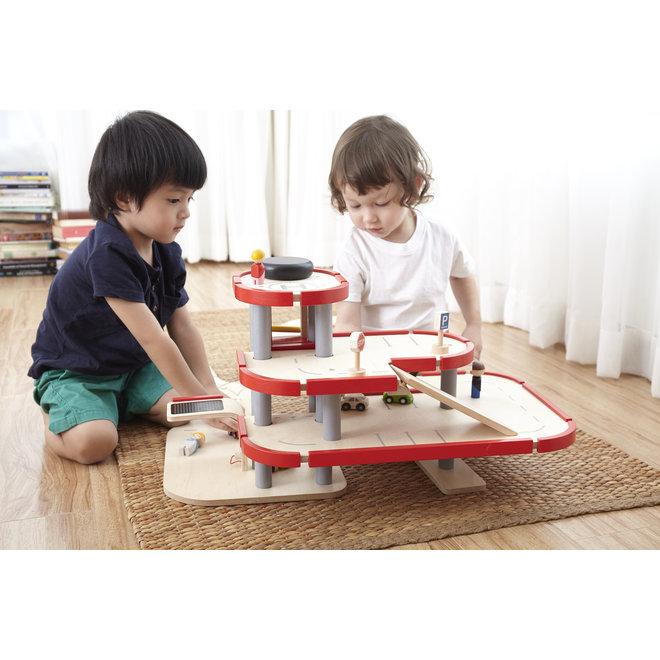 Houten Garage | Plan Toys