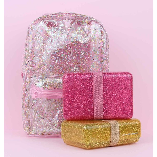 Lunchbox Glitter Pink | A Little Lovely Company