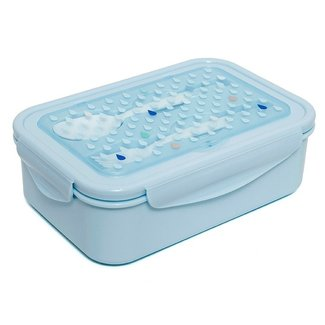 Petit Monkey Bento lunchbox drops Blue | Petit Monkey