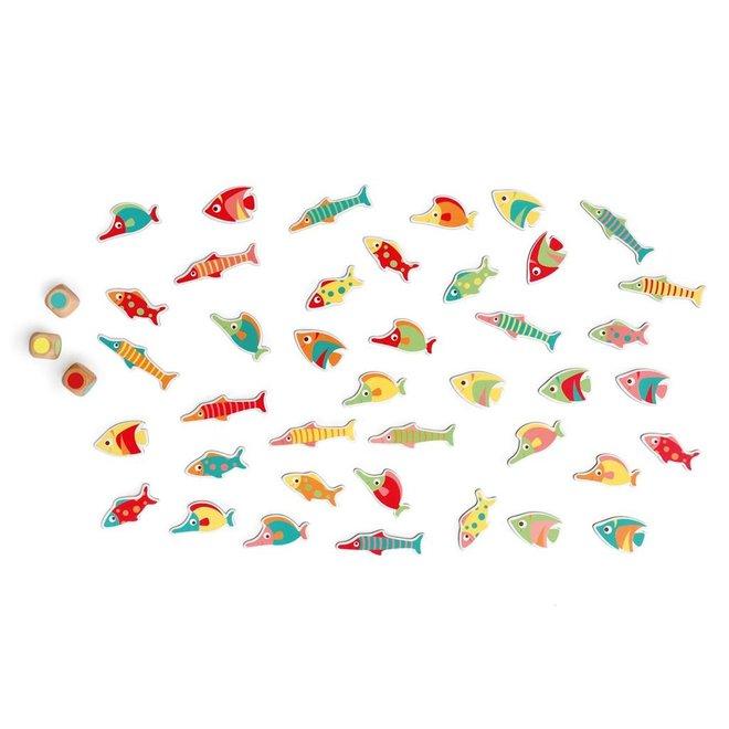 Kleurenspel Find-a-fish | Scratch