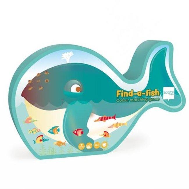 Scratch Kleurenspel Find-a-fish   Scratch