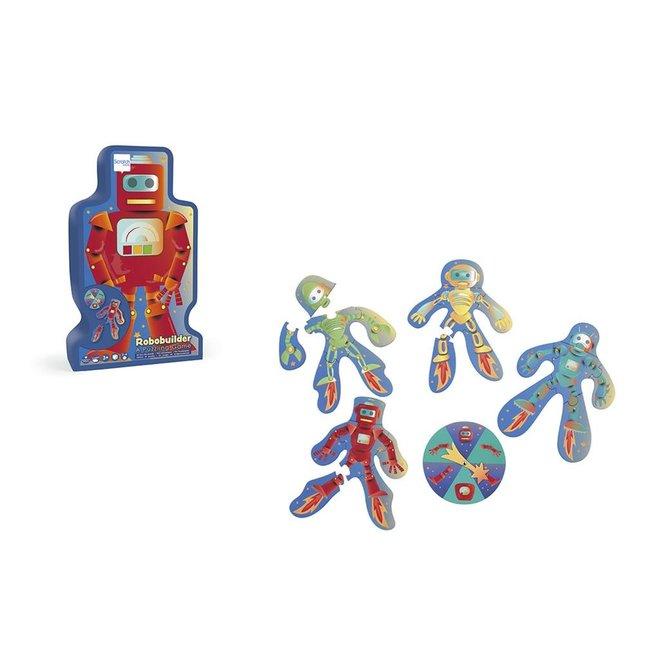 Puzzelspel Robotbuilder | Scratch
