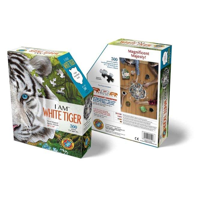 Witte Tijger puzzel - 300st | Madd Capp