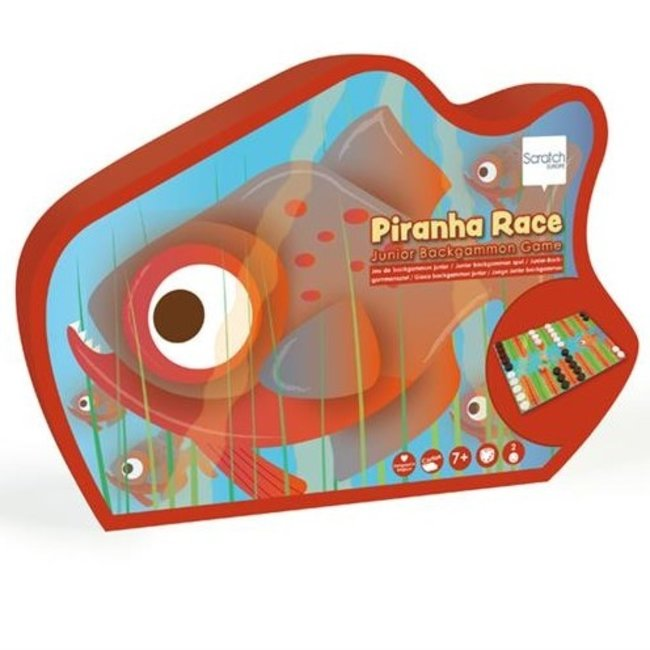 Scratch Junior -Back-Gammonspel Piranha Race | Scratch
