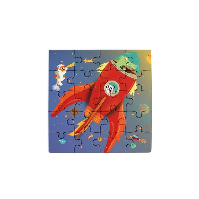 Magnetisch Puzzelboek To Go Ruimte 20st. | Scratch