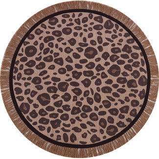 Tapis Petit Tapijt Leopard Round Ø 120 cm