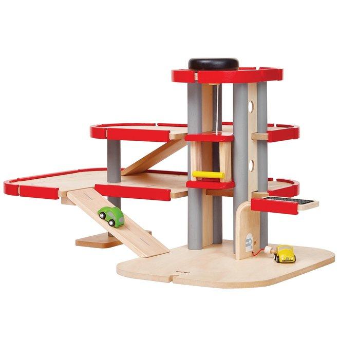 Houten Garage   Plan Toys