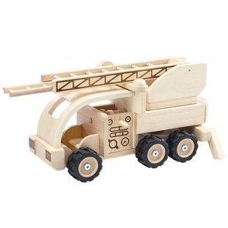Plan Toys Houten Brandweerwagen | Plan Toys