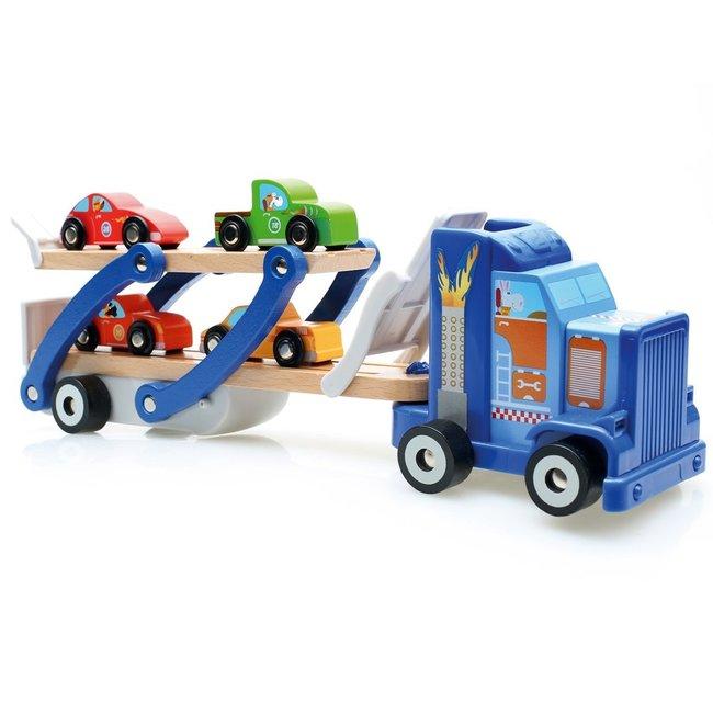 Houten Vrachtwagen Contiloop | Scratch