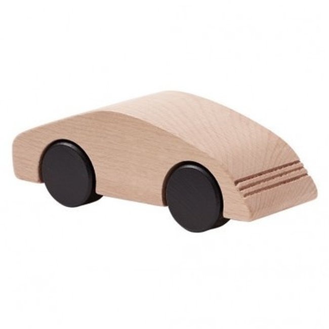 Kid's Concept Houten Sportauto Naturel – Aiden