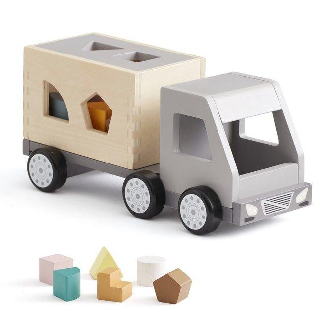 Vrachtwagen met vormpjes Aiden   Kid's Concept