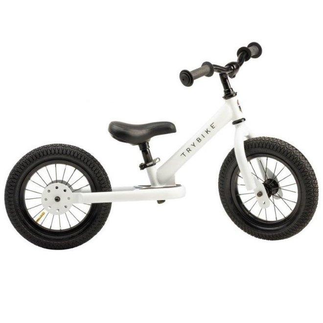 Trybike Steel loopfiets White | Trybike