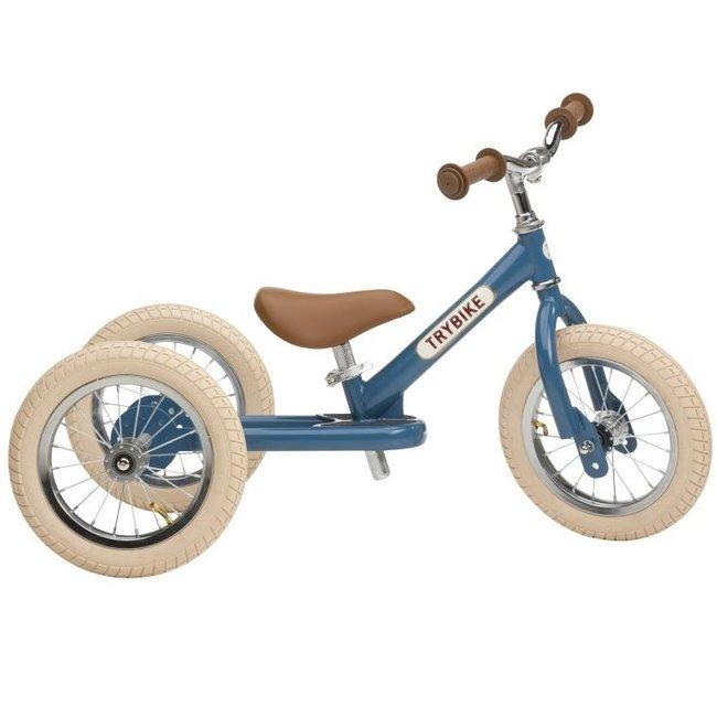 Trybike  Steel 2-1 loopfiets Vintage Blue   Trybike
