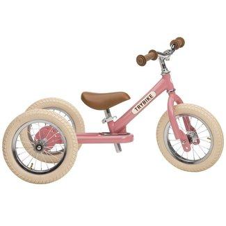 Trybike Trybike  Steel 2-1 loopfiets Vintage Pink | Trybike