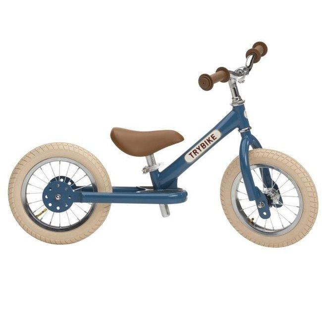 Trybike Steel loopfiets - Vintage Blue | Trybike