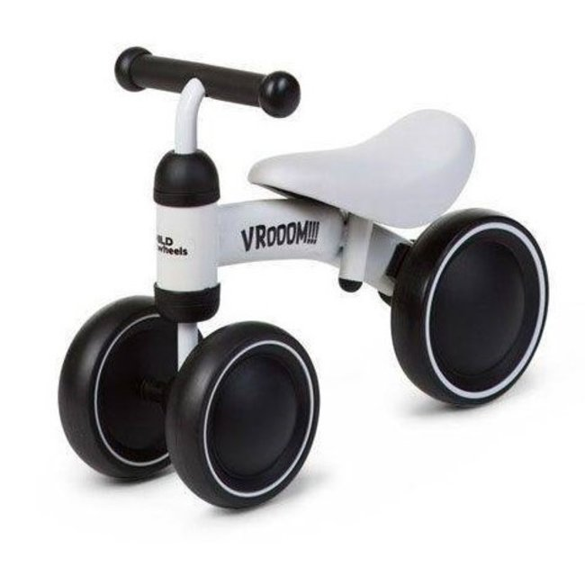 Childhome Baby Loopfiets Vroom - Wit  |  Childhome