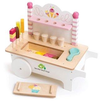 Tender Leaf Toys Houten Ijskarretje | Tender Leaf Toys