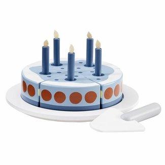 Kid's Concept Houten Verjaardagstaart Blauw | Kid's Concept