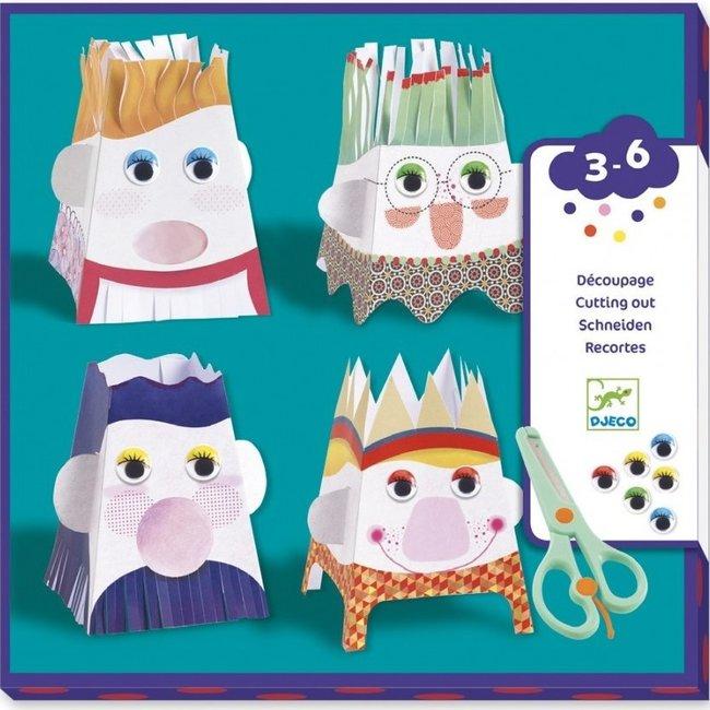 Djeco Knutselset Knip-Knip Poppetjes maken