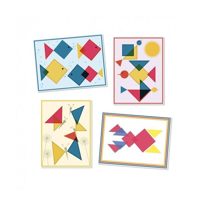 Stickerset Magische Vierkanten