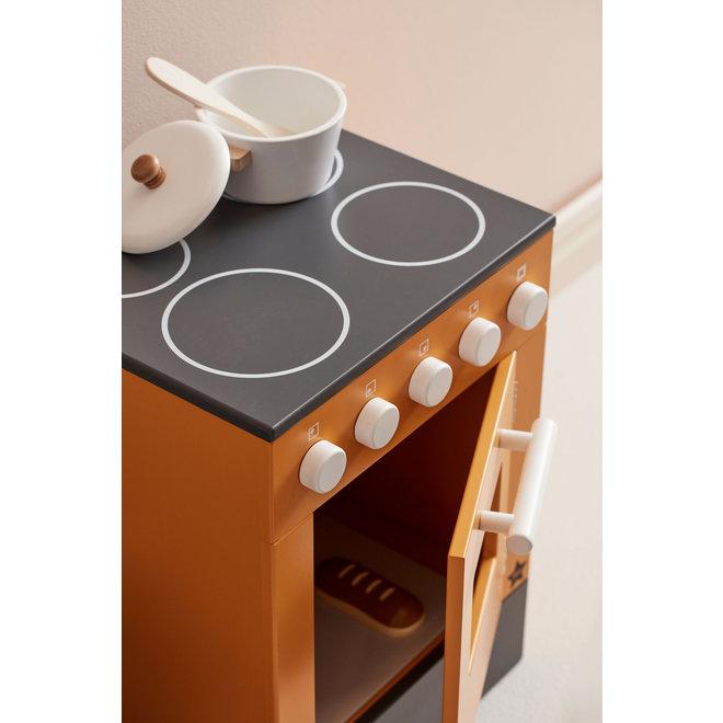 Houten Oven - Geel