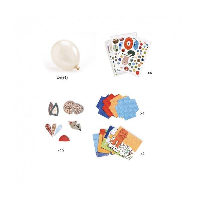 DIY Knutselset Ballonnen  - Dieren