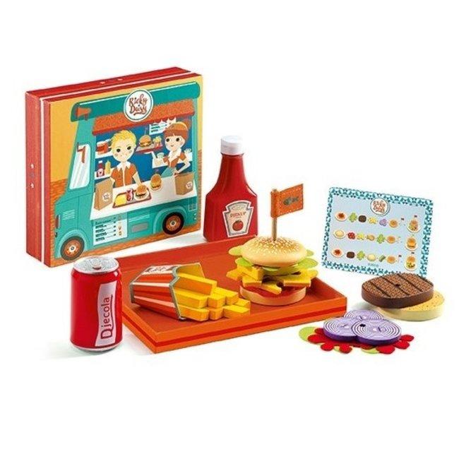 Djeco Hamburgerset - Ricky & Daisy