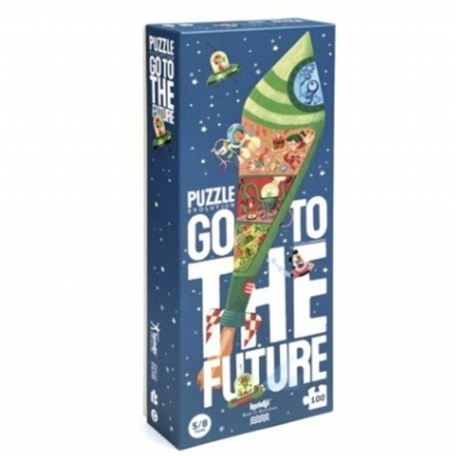 Go to the Future Puzzel - 100st  |  Londji
