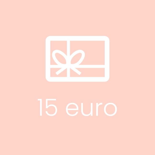Cadeaubon 15 EUR