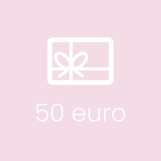 Cadeaubon 50 EUR