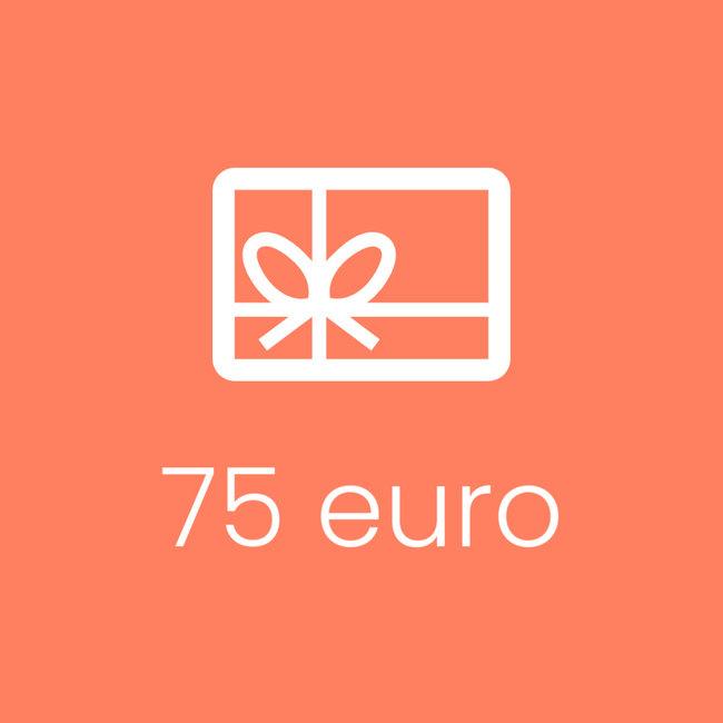 Cadeaubon 75 EUR