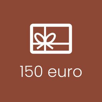 Cadeaubon 150 EUR