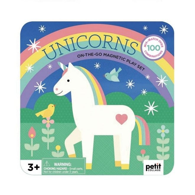 Unicorns On-the-Go Magneetset