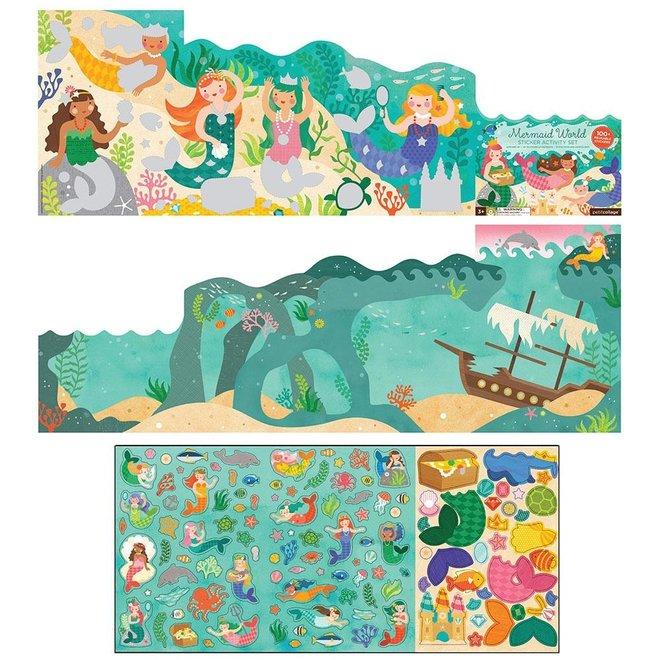Stickerboek - Zeemeerminnen Wereld