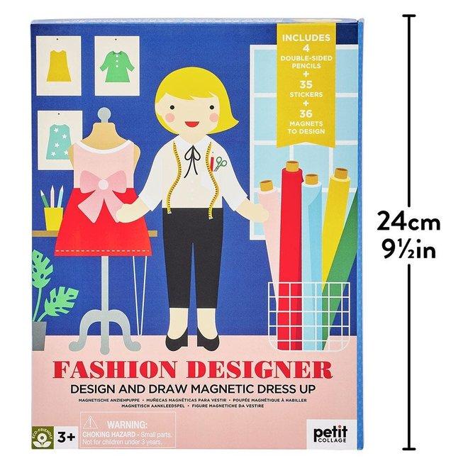 Magneet + Tekenset Fashion Designer