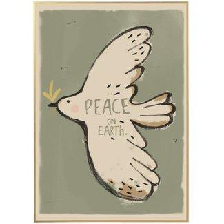 Studio Loco Poster Peacebird 50x70cm