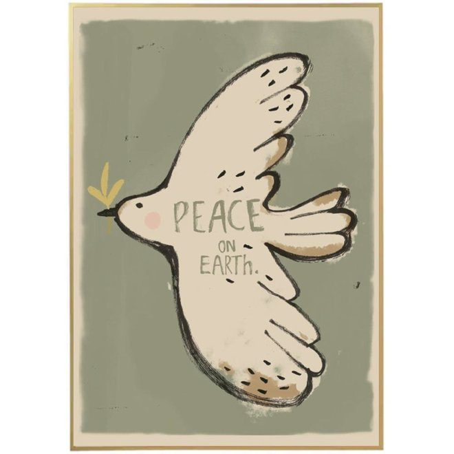 Poster Peacebird 50x70cm