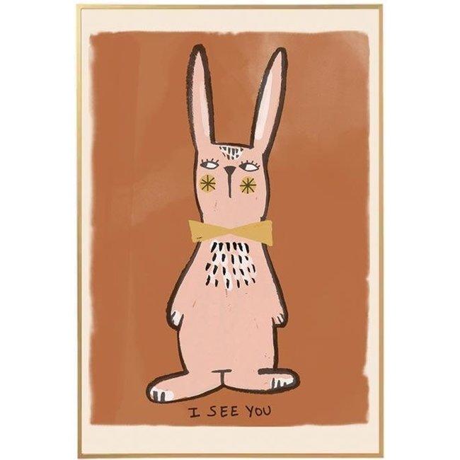 Studio Loco Poster Rabbit 50x70cm