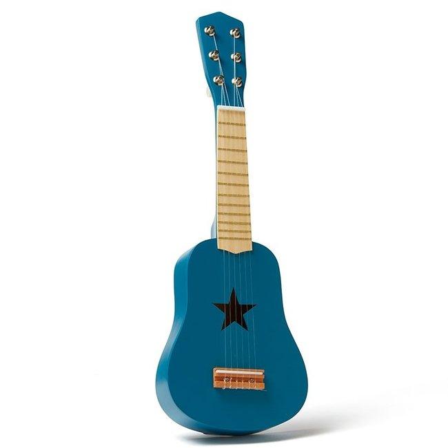 Kid's Concept Houten Gitaar Blauw